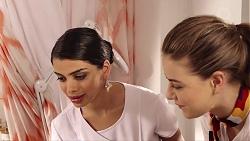 Elaine Louder, Chloe Brennan in Neighbours Episode 7816