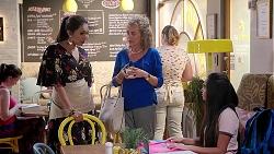 Dipi Rebecchi, Jane Harris, Kirsha Rebecchi in Neighbours Episode 7817
