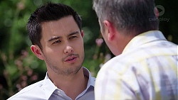 David Tanaka, Karl Kennedy in Neighbours Episode 7817