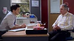 David Tanaka, Karl Kennedy in Neighbours Episode 7818