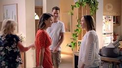 Sheila Canning, Amy Williams, Mark Brennan, Sonya Rebecchi in Neighbours Episode 7818