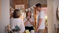 Sonya Mitchell, Piper Willis, Mark Brennan in Neighbours Episode 7818
