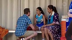 Shane Rebecchi, Yashvi Rebecchi, Dipi Rebecchi in Neighbours Episode 7819