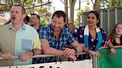 Toadie Rebecchi, Shane Rebecchi, Dipi Rebecchi in Neighbours Episode 7819