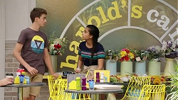 Jimmy Williams, Kirsha Rebecchi in Neighbours Episode 7820