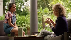 Kirsha Rebecchi, Jane Harris in Neighbours Episode 7820