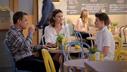 Paul Robinson, Amy Williams, Jimmy Williams in Neighbours Episode 7820