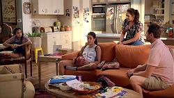 Kirsha Rebecchi, Yashvi Rebecchi, Dipi Rebecchi, Shane Rebecchi in Neighbours Episode 7820