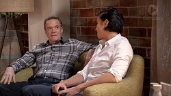Paul Robinson, Leo Tanaka in Neighbours Episode 7821