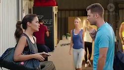 Elly Conway, Mark Brennan in Neighbours Episode 7821