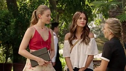 Chloe Brennan, Elly Conway, Xanthe Canning in Neighbours Episode 7822