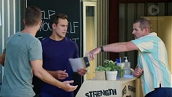 Mark Brennan, Aaron Brennan, Toadie Rebecchi in Neighbours Episode 7823