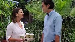 Amy Williams, Leo Tanaka in Neighbours Episode 7823
