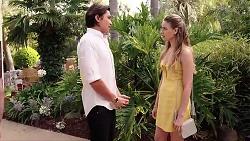 Leo Tanaka, Chloe Brennan in Neighbours Episode 7824