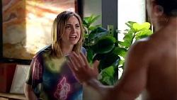 Piper Willis, Aaron Brennan in Neighbours Episode 7824
