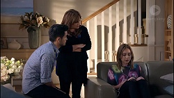 David Tanaka, Terese Willis, Piper Willis in Neighbours Episode 7825