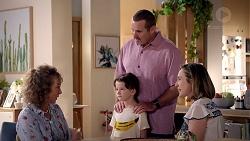 Jane Harris, Toadie Rebecchi, Nell Rebecchi, Sonya Mitchell in Neighbours Episode 7827