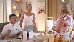 Gary Canning, Steph Scully, Sheila Canning in Neighbours Episode 7827