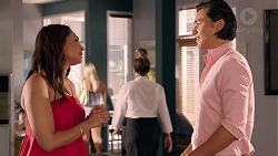Dipi Rebecchi, Leo Tanaka in Neighbours Episode 7828