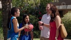 Yashvi Rebecchi, Kirsha Rebecchi, Shane Rebecchi, Dipi Rebecchi in Neighbours Episode 7828