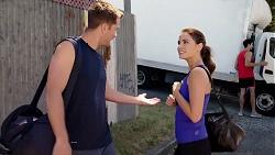 Mark Brennan, Elly Conway in Neighbours Episode 7830