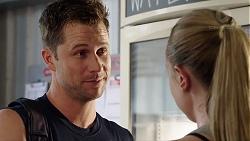 Mark Brennan, Monique Hughes in Neighbours Episode 7830