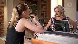 Monique Hughes, Sheila Canning in Neighbours Episode 7830