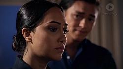 Mishti Sharma, Leo Tanaka in Neighbours Episode 7830