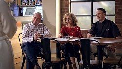 Karl Kennedy, Jane Harris, Darren Purchese in Neighbours Episode 7831