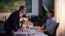 Paul Robinson, Leo Tanaka in Neighbours Episode 7831
