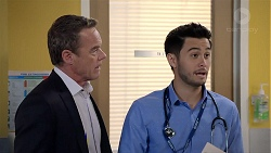Paul Robinson, David Tanaka in Neighbours Episode 7832