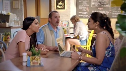 Mishti Sharma, Toadie Rebecchi, Dipi Rebecchi in Neighbours Episode 7832