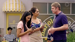Mishti Sharma, Dipi Rebecchi, Gary Canning in Neighbours Episode 7832