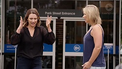 Amy Williams, Steph Scully in Neighbours Episode 7833