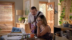 Toadie Rebecchi, Sonya Mitchell in Neighbours Episode 7833