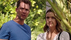 Mark Brennan, Amy Williams in Neighbours Episode 7833