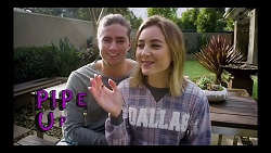 Tyler Brennan, Piper Willis in Neighbours Episode 7834