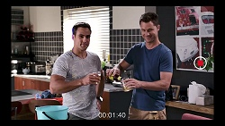 Aaron Brennan, Mark Brennan in Neighbours Episode 7834