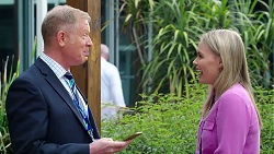 Clive Gibbons, Xanthe Canning in Neighbours Episode 7835