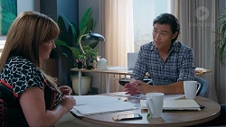 Terese Willis, Leo Tanaka in Neighbours Episode 7835