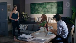 Chloe Brennan, Terese Willis, Leo Tanaka in Neighbours Episode 7835