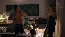 Leo Tanaka, Chloe Brennan in Neighbours Episode 7836