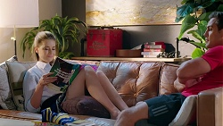 Chloe Brennan, Aaron Brennan in Neighbours Episode 7836