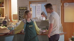 Sonya Mitchell, Mark Brennan in Neighbours Episode 7836