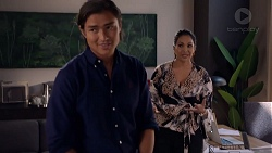 Leo Tanaka, Dipi Rebecchi in Neighbours Episode 7837