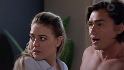 Chloe Brennan, Leo Tanaka in Neighbours Episode 7837