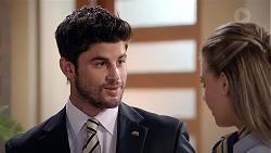 Brandon Danker, Chloe Brennan in Neighbours Episode 7838