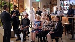Paul Robinson, Brandon Danker, Sheila Canning, Dipi Rebecchi, Chloe Brennan, Leo Tanaka in Neighbours Episode 7838