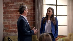 Paul Robinson, Caroline Perkins in Neighbours Episode 7838