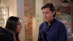 Mishti Sharma, Leo Tanaka in Neighbours Episode 7838